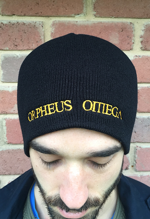 Orpheus Omega - Embroidered Beanie